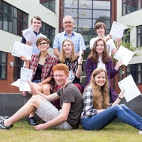 Staff and Students at Midhurst Rother College Celebrate Another Improvement
